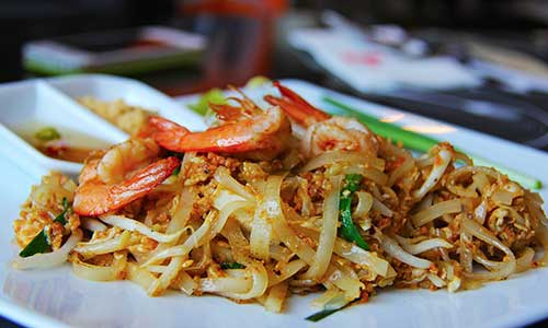 Plats Wok Thailandais Eaunes