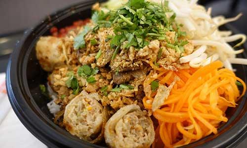 Salades Asiatiques Eaunes