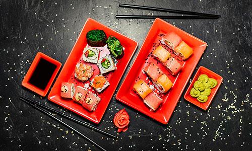 Sushi Maki Thai fast food Eaunes