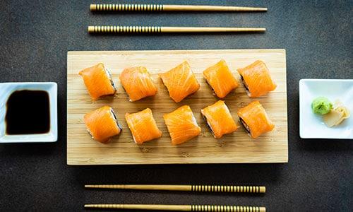 Sushi Maki Thai fast food