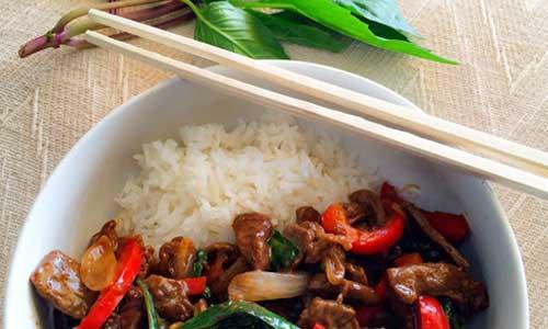 wok thai boeuf